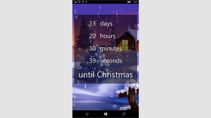 Christmas Countdown Widget.Get The Christmas Countdown Microsoft Store