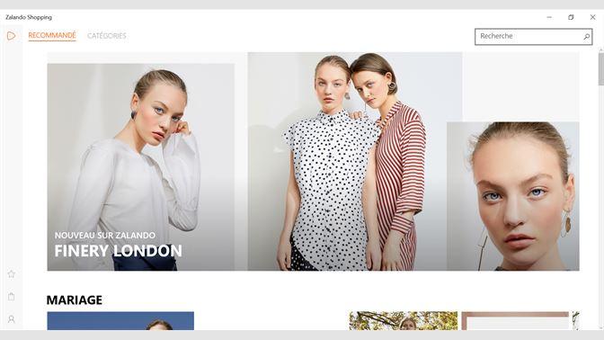 556b03487c80 Recevoir Zalando Shopping - Microsoft Store fr-BE