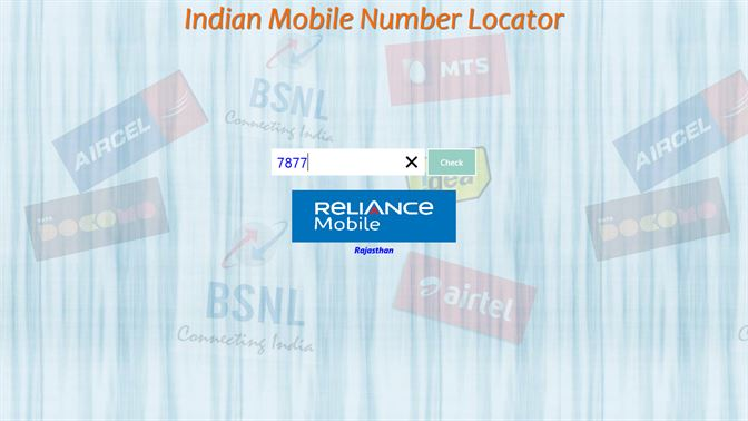 indian mobile number