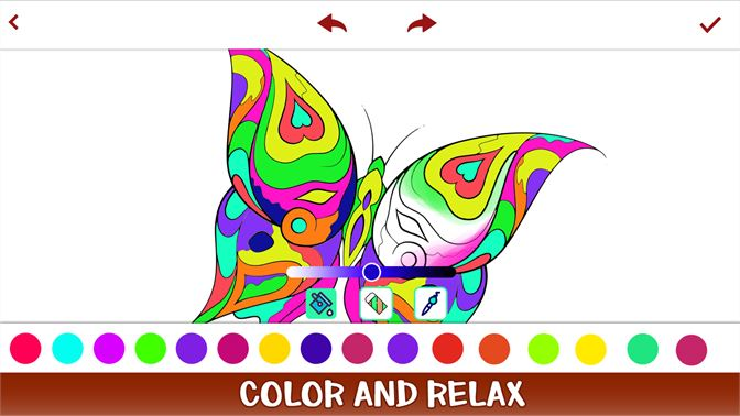 Get Butterfly Coloring Book