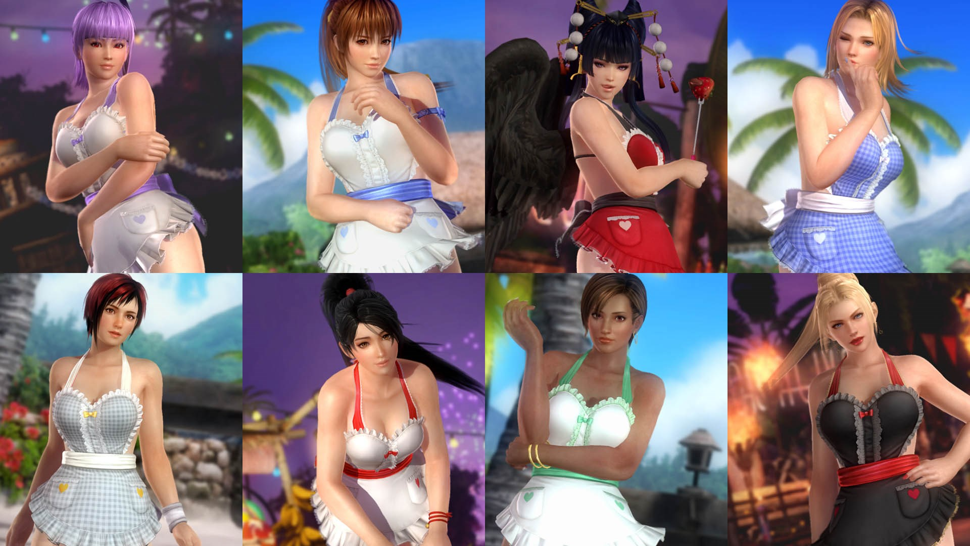 DOA5LR Costume Catalog LR24