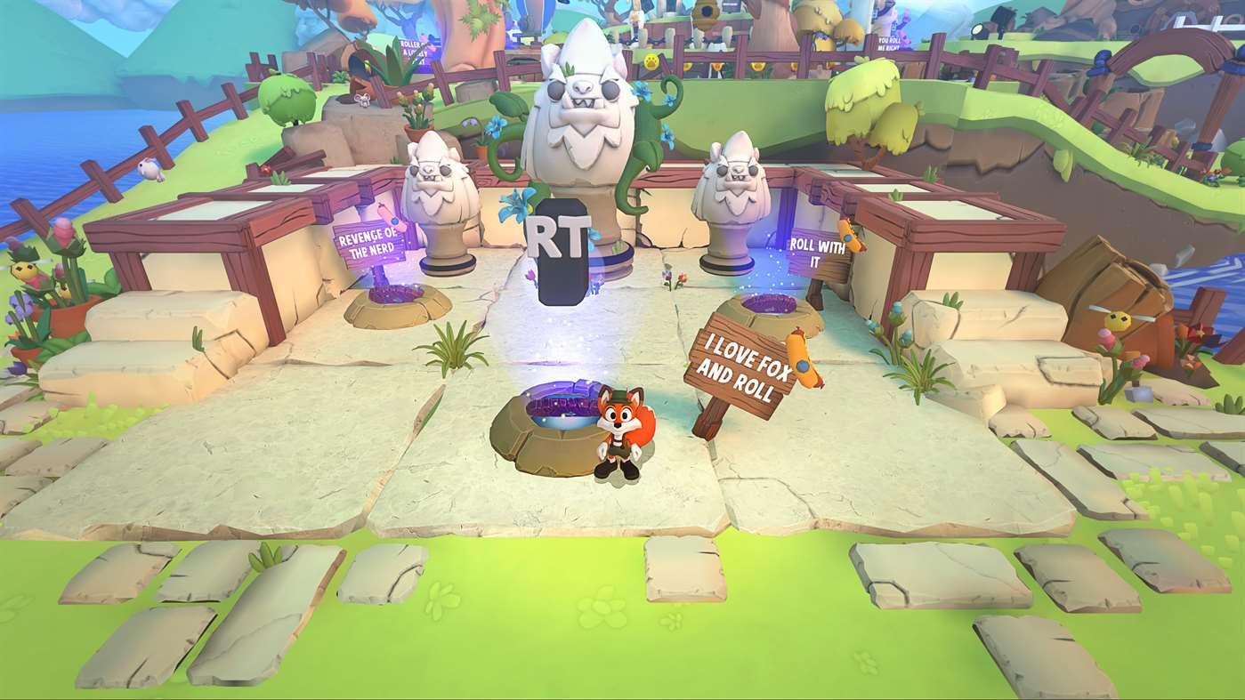 Super Lucky's Tale Guardian Trials Screenshot