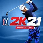 PGA TOUR 2K21 Digital Deluxe Logo