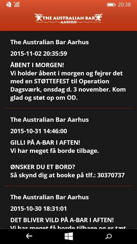 Get The Australian Bar Aarhus - Microsoft Store