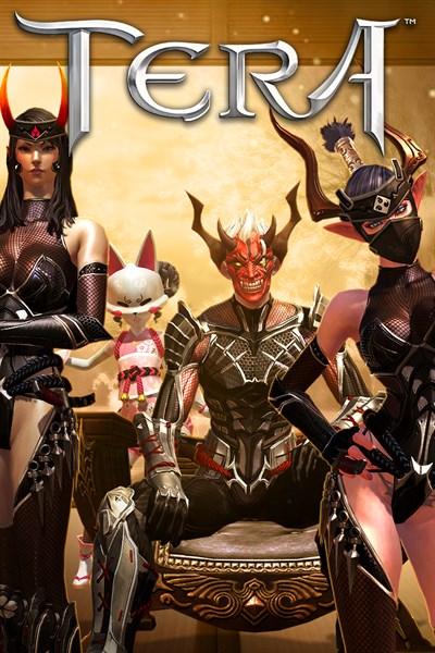 TERA: Bloodshadow Ninja Pack