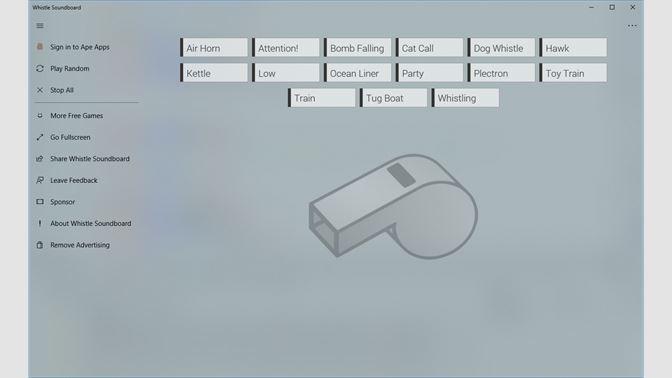 Get Whistle Soundboard - Microsoft Store