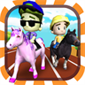 Horse Racing 3D (Kids Edition)