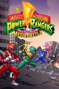 Carátula del juego Saban's Mighty Morphin Power Rangers: Mega Battle