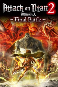 Carátula para el juego Attack on Titan 2: Final Battle de Xbox 360