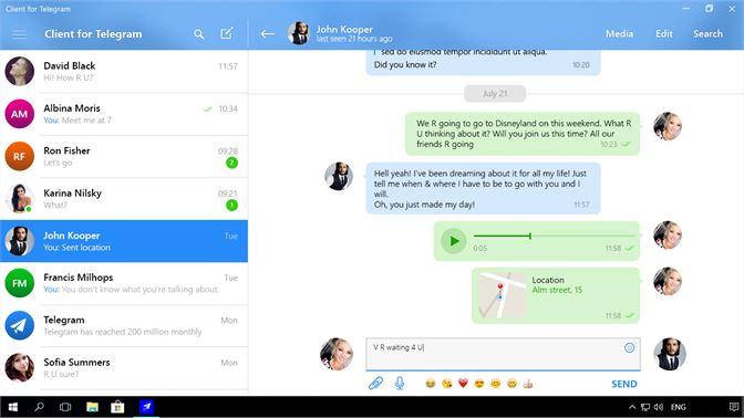Buy Client for Telegram - Microsoft Store