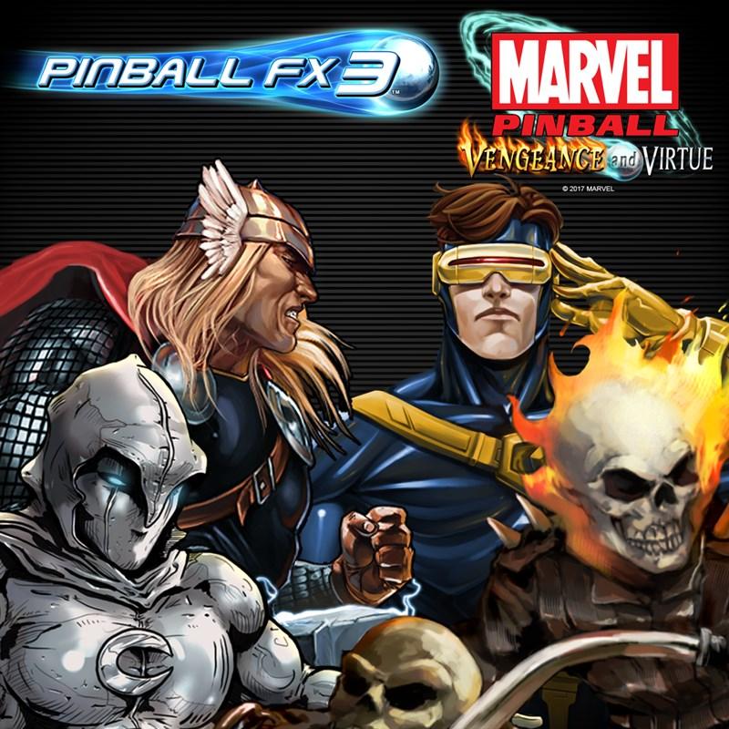 Pinball FX3 - Marvel Pinball: Vengeance and Virtue