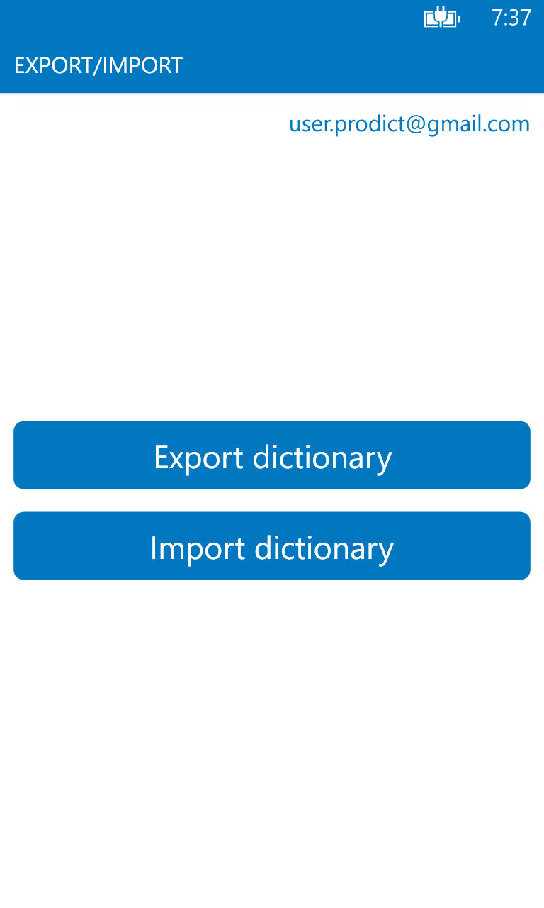 Persian English dictionary ProDict Free