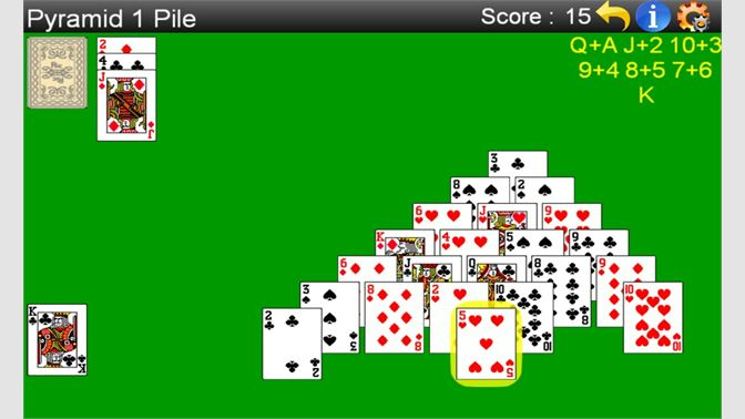 Get Pyramid Solitaire Free Microsoft Store