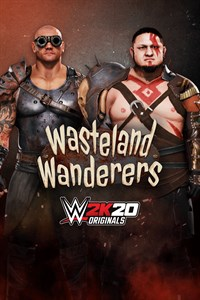 Carátula del juego WWE 2K20 Originals: Wasteland Wanderers