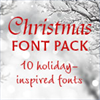 Monotype Christmas Font Pack