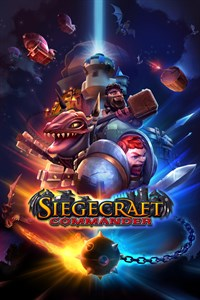 Carátula para el juego Siegecraft Commander de Xbox 360