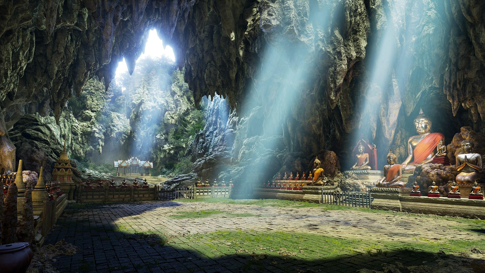 """鉄拳7 DLC15 """"CAVE OF ENLIGHTENMENT"""""""
