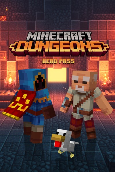 Minecraft Dungeons Hero Pass Upgrade