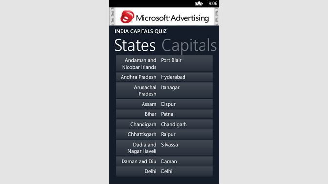India Capitals Quiz beziehen – Microsoft Store de-AT on