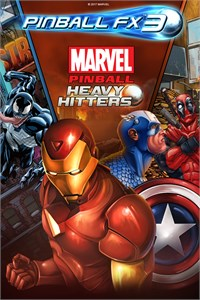 Carátula del juego Pinball FX3 - Marvel Pinball: Heavy Hitters