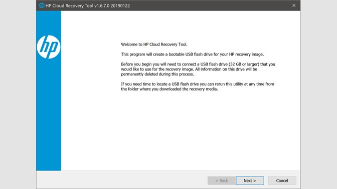 Get HP Cloud Recovery Tool - Microsoft Store