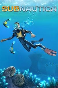 Carátula para el juego Subnautica de Xbox 360