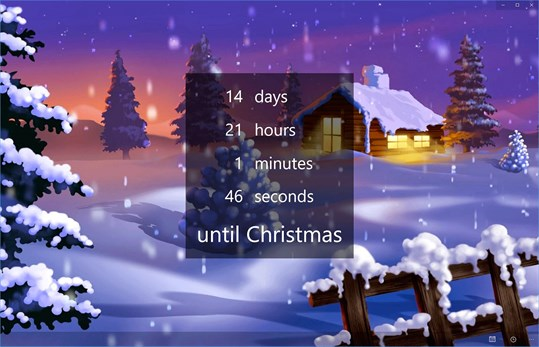 The Christmas Countdown screenshot