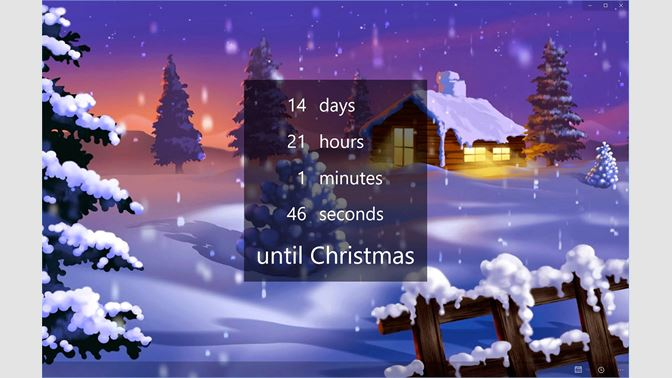 Get The Christmas Countdown Microsoft Store
