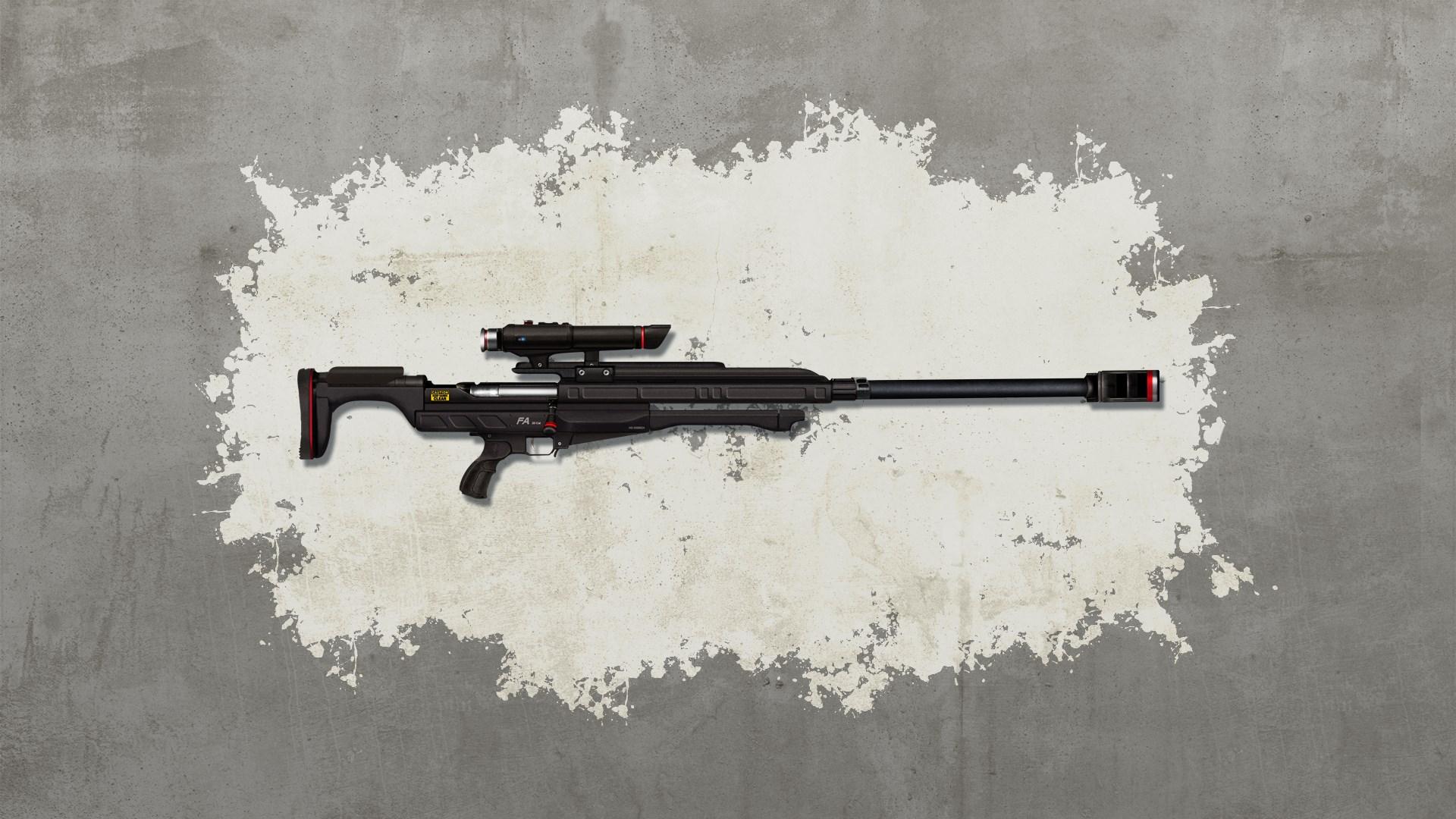Ruhe-sanft-Scharfschützengewehr