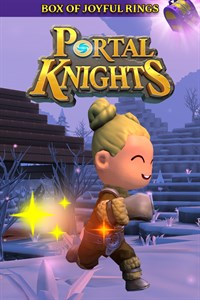 Carátula del juego Portal Knights – Box of Joyful Rings