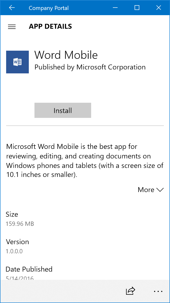 Windows Mobile dating app