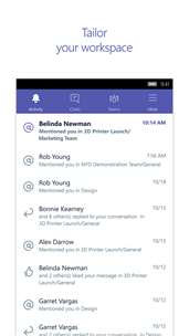 Microsoft Teams screenshot 3