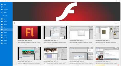 Adobe Flash Ultimate Guides Captures d'écran 1