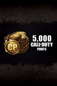 5,000 Call of Duty®: Black Ops III Points