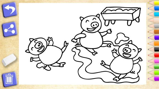 çocuklar Için Oyun Boyama çiftlik Hayvanları Al Microsoft Store Tr Tr