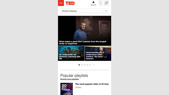 ted talk dating online