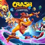 Crash Bandicoot™ 4: It's About Time Logo