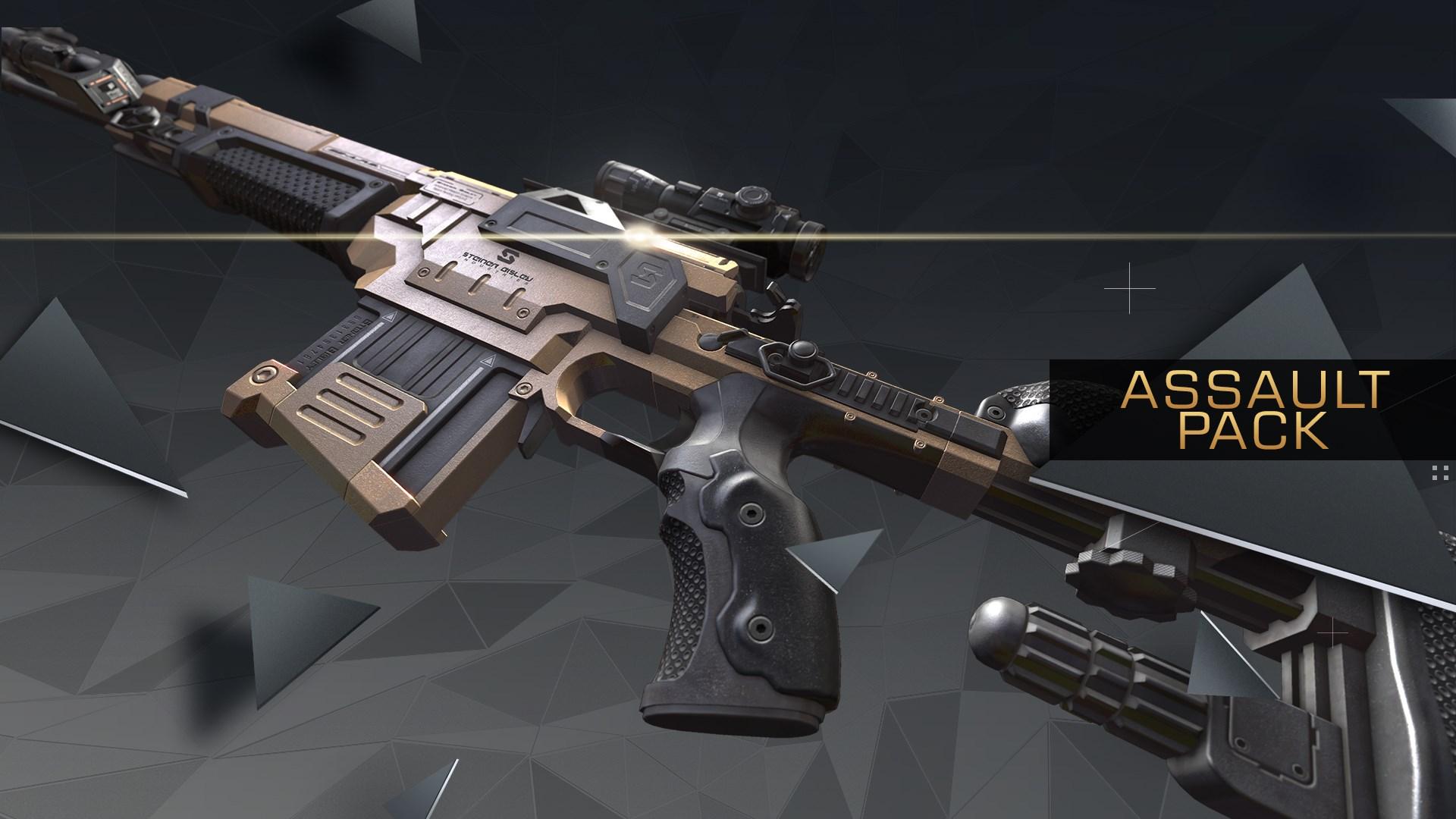 Deus Ex: Mankind Divided - Pack Assaut
