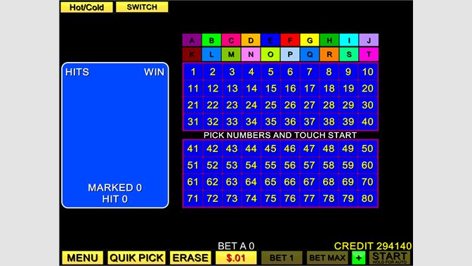Play 20 card keno free