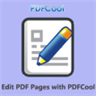 Edit PDF Pages with PDFCool