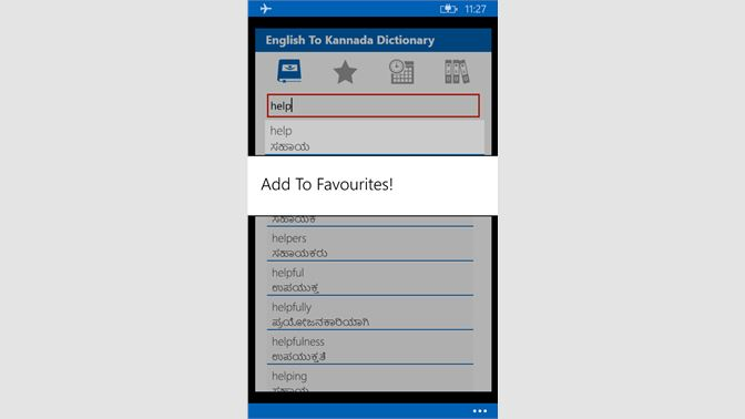 Get English To Kannada Dictionary - Microsoft Store