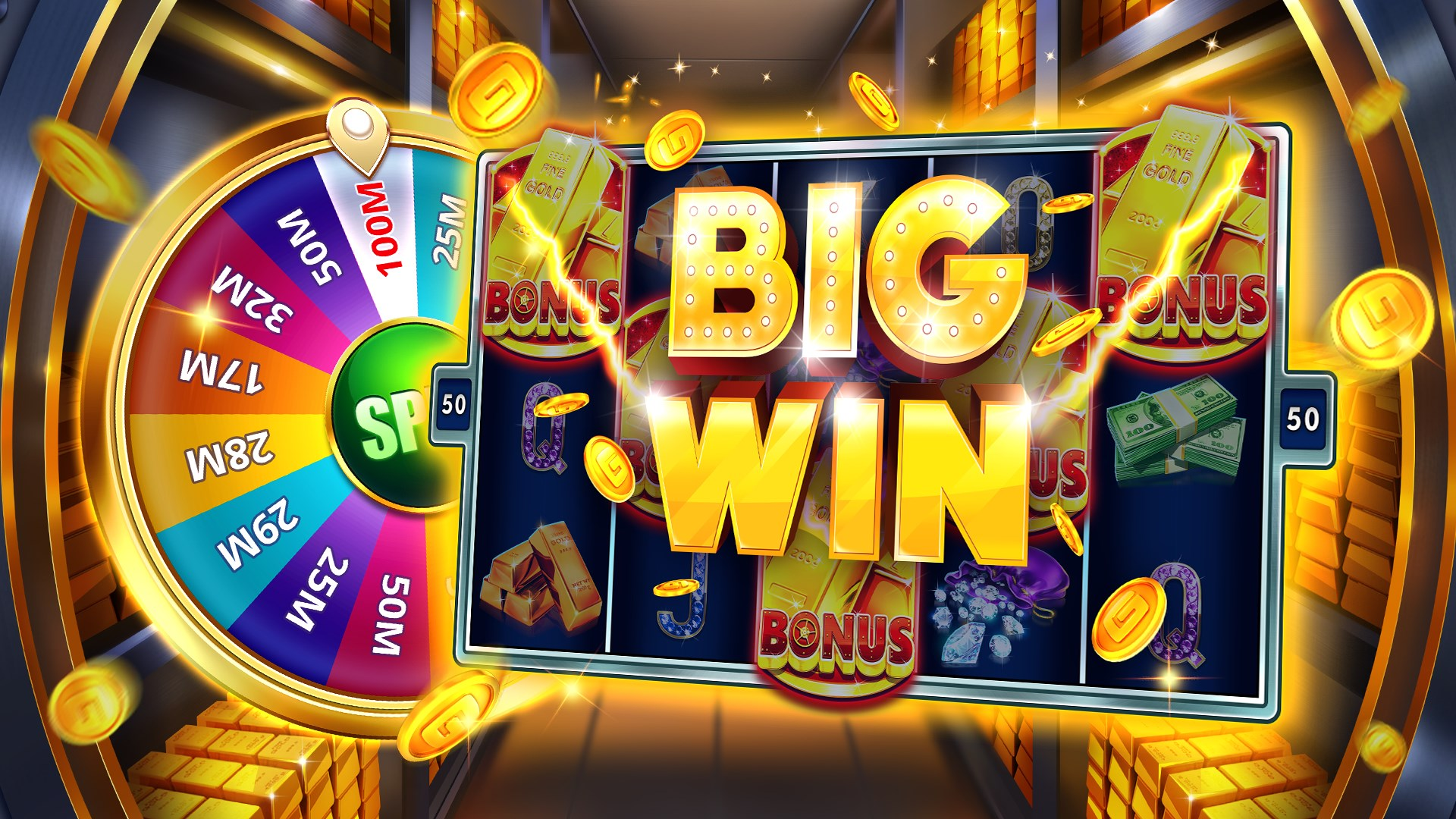 New Free Slots Bonus Games