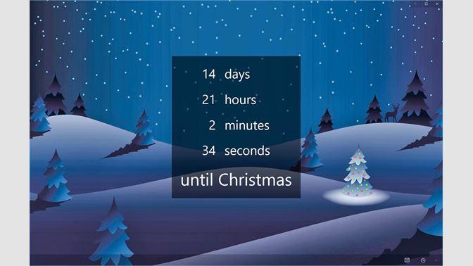 Christmas Countdown Screen Savers.Get The Christmas Countdown Microsoft Store