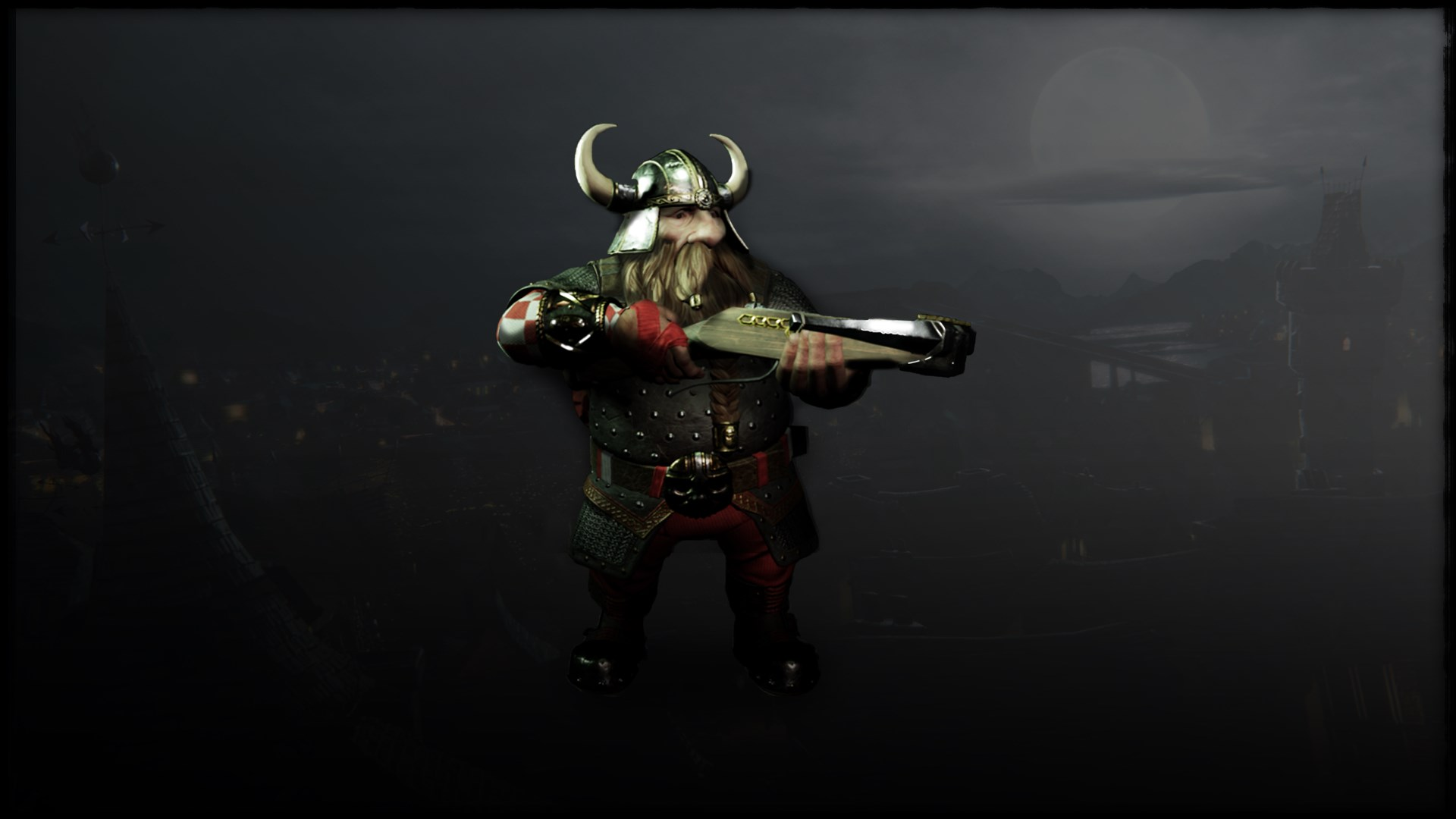 Warhammer Vermintide - Bardin 'Studded Leather' Skin