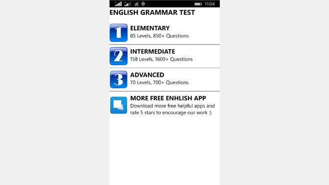 Get English Grammar Test Free - Microsoft Store en-HK