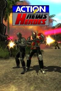 Carátula del juego Action News Heroes