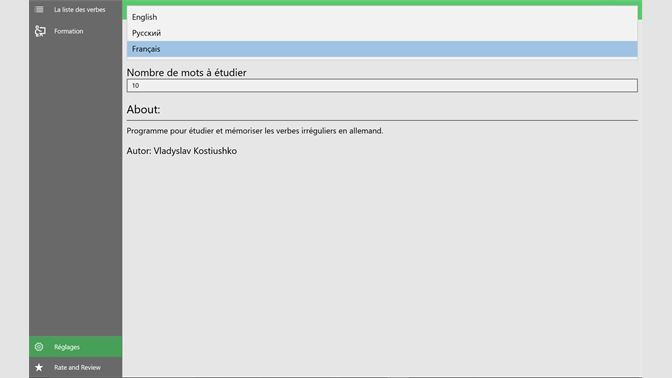 Recevoir Verbes Irreguliers Allemand Microsoft Store Fr Fr