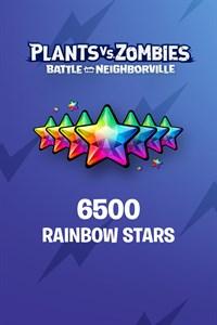 Plants vs. Zombies: Battle for Neighborville™ – 5000 (+1500 Bonus) Rainbow Stars