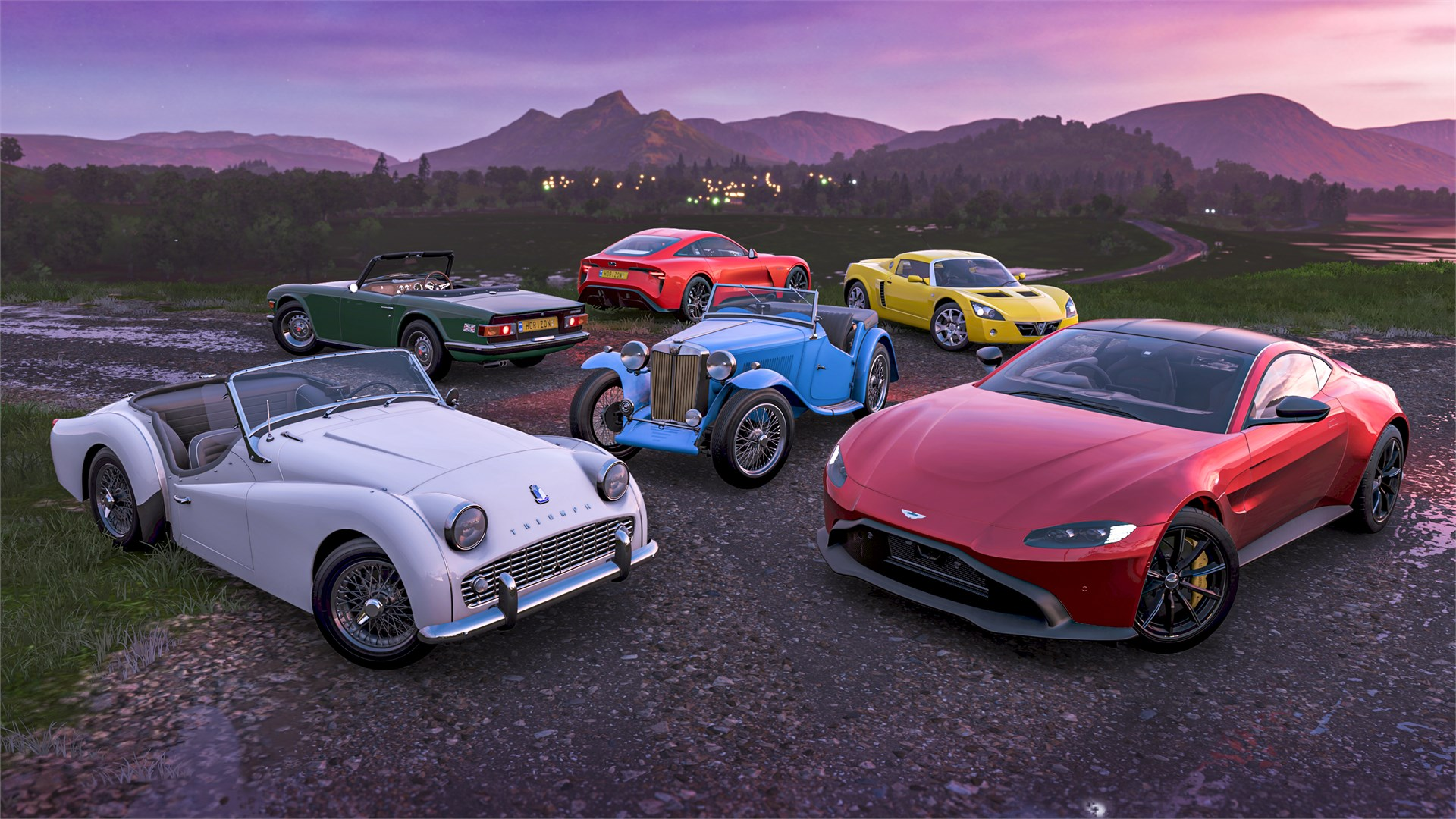 Forza Horizon 4 British Sports Cars Car Pack