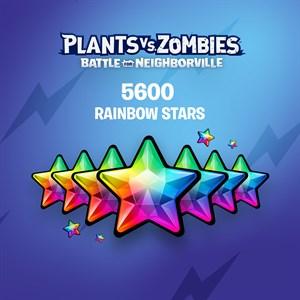 Plants vs. Zombies: Battle for Neighborville™ – 5000 (+600 Bonus) Rainbow Stars Xbox One
